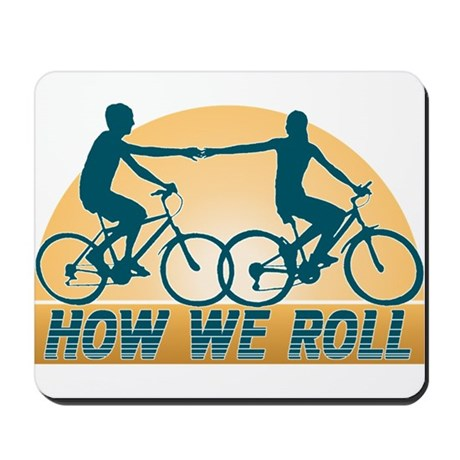 How We Roll Cycling Mousepad