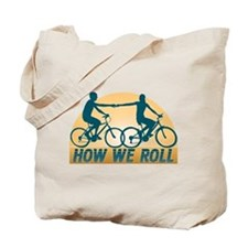 How We Roll Cycling Tote Bag