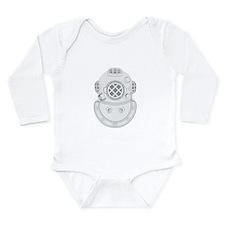 Second Class Diver Long Sleeve Infant Bodysuit