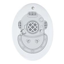 Second Class Diver Ornament (Oval)