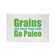 What Food Eats Rectangle Magnet (10 pack)