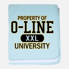O-LINE U baby blanket