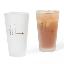 Pole Vault Pint Glass