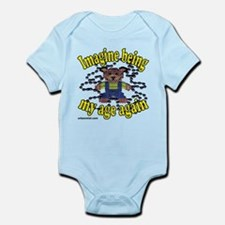imagine being my age again Infant Bodysuit