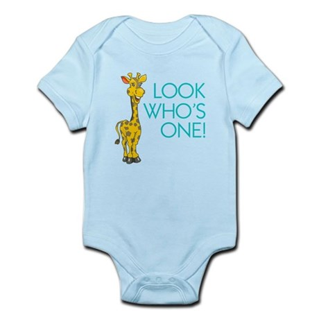 Look Who's One Infant Bodysuit