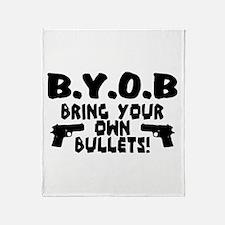 BYOB Throw Blanket