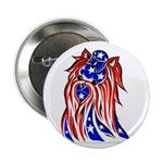 """YORKSHIRE TERRIER ON 2.25"""" Button (10 pack)"""