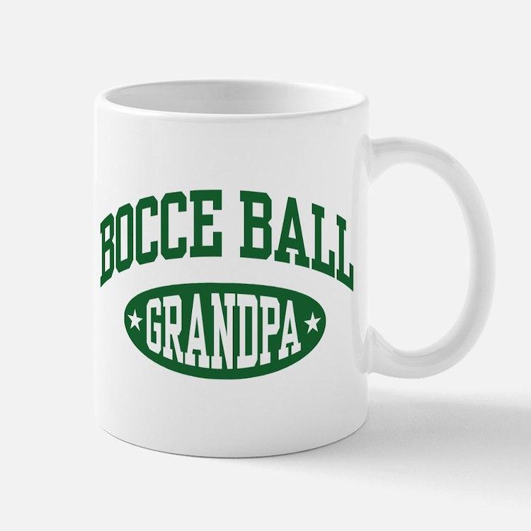 Bocce Ball Grandpa Mug