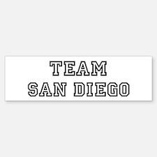 Team San Diego Bumper Bumper Bumper Sticker