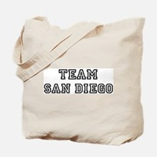 Team San Diego Tote Bag