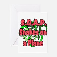 S.O.A.P. Red Greeting Cards (Pk of 10)