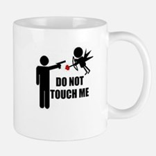 Do Not Touch Me Cupid Small Small Mug