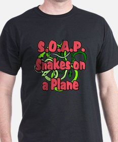 S.O.A.P. Red Black T-Shirt