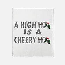 High Ho Throw Blanket
