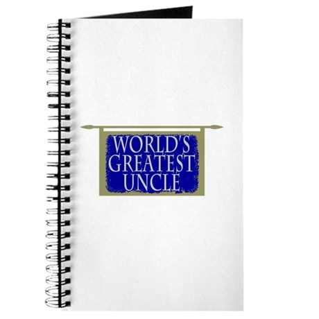 World's Greatest Uncle Journal
