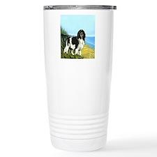 Landseer on the Beach Travel Mug
