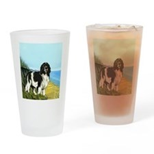 Landseer on the Beach Pint Glass