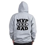 MVP Dad Father's Day Zip Hoodie