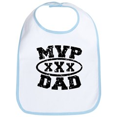 MVP Dad Father's Day Bib