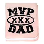 MVP Dad Father's Day baby blanket