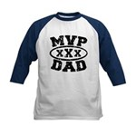 MVP Dad Father's Day Kids Baseball Jersey