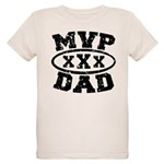 MVP Dad Father's Day Organic Kids T-Shirt