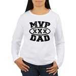 MVP Dad Father's Day Women's Long Sleeve T-Shirt