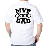 MVP Dad Father's Day Golf Shirt