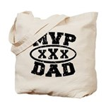 MVP Dad Father's Day Tote Bag