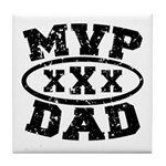 MVP Dad Father's Day Tile Coaster