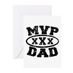 MVP Dad Father's Day Greeting Cards (Pk of 10)