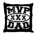 MVP Dad Father's Day Throw Pillow