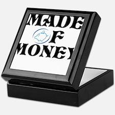 Made Of Money Keepsake Box