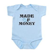 Made Of Money Infant Bodysuit