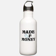 Made Of Money Water Bottle