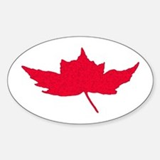 Canadian Maple Leaf Decal