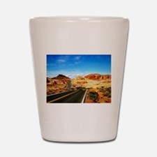 Valley of Fire Shot Glass