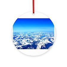 Sierra Mountains Ornament (Round)