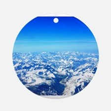 Sierra Mountains Ornament (Round)