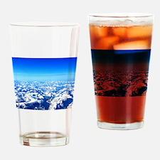 Sierra Mountains Pint Glass