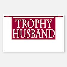 Trophy Husband Decal