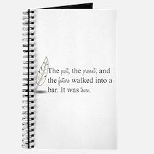 It Was Tense Journal