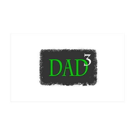 Dad 3 35x21 Wall Decal