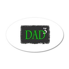 Dad 3 Wall Decal