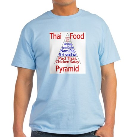 Thai Food Pyramid Light T-Shirt