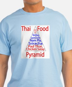 Thai Food Pyramid T-Shirt