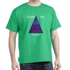 Australian Food Pyramid T-Shirt