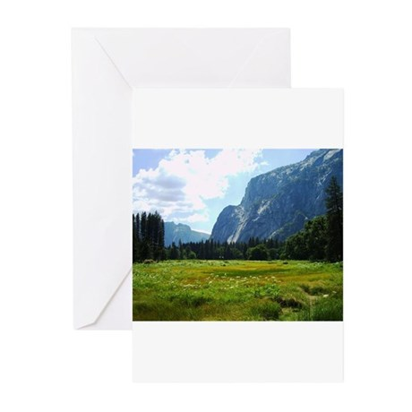 Yosemite Meadow Greeting Cards (Pk of 10)