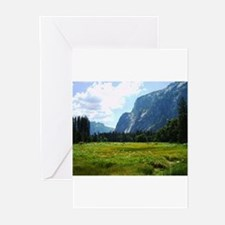 Yosemite Meadow Greeting Cards (Pk of 10)