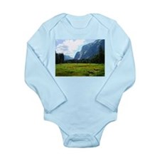 Yosemite Meadow Long Sleeve Infant Bodysuit